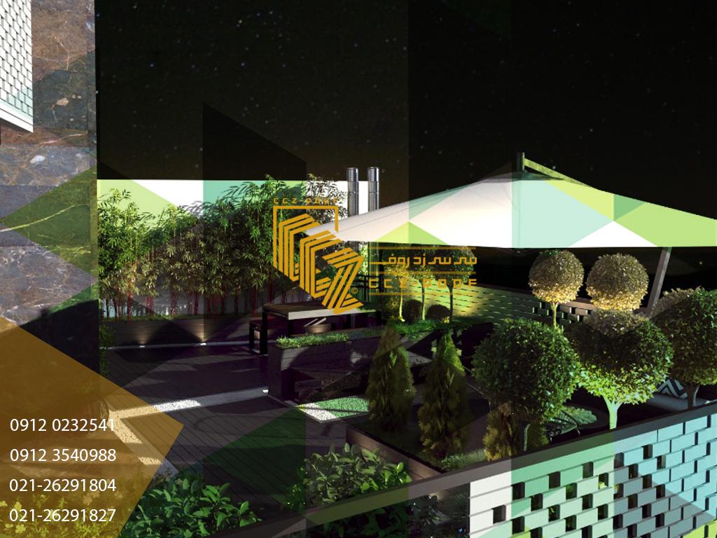 ساخت روف گاردن برای ساختمان های جدید